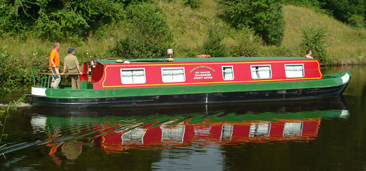 Riverside Barge Holidays, Ballinamore, Co. Leitrim